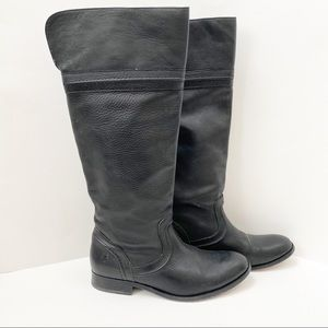 Frye Melissa Trapunto Boot Knee High Boot Size 8.5